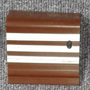 step nosing tangga karet coklat garis putih